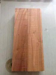 Brown Badminton Court Teak Wooden Flooring