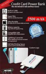 CREDIT CARD Power Card 2500mAh