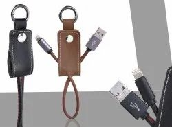 Leather Charger USB Data Cable