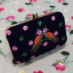 Handmade Bird Design Ladies Handbag