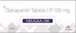 Gabapentin 100mg Tablet