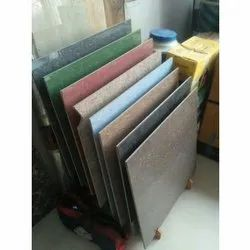 Square Ceramic Double Charge Floor Tiles, Size: 24x24 Inch