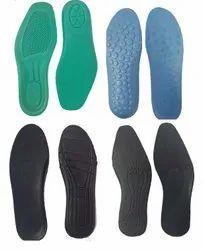 Eva & PU Foam Foot Bed, For Shoes,slipper Etc
