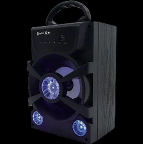 Black Enter Go Boomber Xplode Bluetooth Speaker