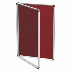 Acrylic Covered Notice Board