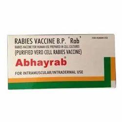 Abhayrab Rabies Vaccine, Prescription