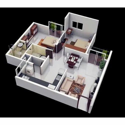 Revit Architectural House Map