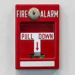 M S Body Red Fire Alarms