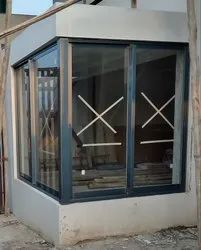 Modern 6 Colours Aluminium Windows, Size/Dimension: Cutsomised To Your Sizes