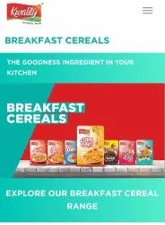 Corn Strawberry Kwality Foods - Breakfast Cereals, Packaging Type: Box