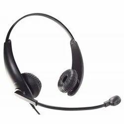 Wired Black Accutone TB710 QD5 Headset, Weight: 40 Gm