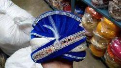 Blue Pagdi Turban Pheta