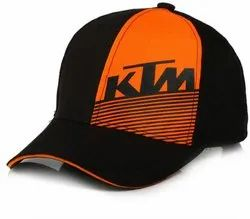 KTM Black Cotton Baseball Cap