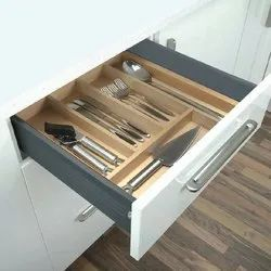 Kitchen Adjustable Cutlery Box