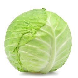 A Grade Fresh Green Cabbage, PP Bag, 25 Kg