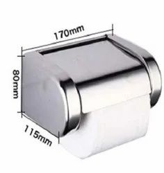 Stainless Steel Silver Toilet Paper Holders