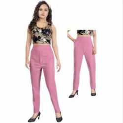 Pants Regular Fit Pant House Women Cotton Pant (XL, XXL_P-02)