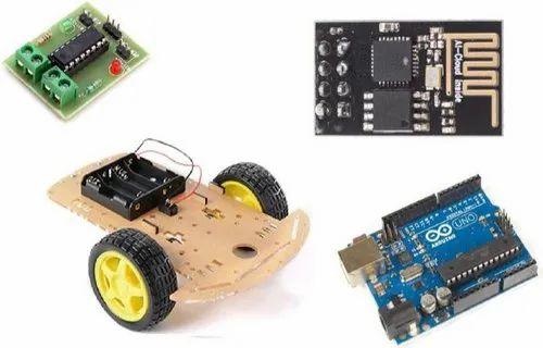 Arduino Uno Compatible Light Dependent Robot Diy Kit