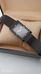 Taxmo Men Metal Gents Slim Watch, For Daily
