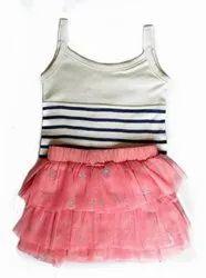 BCI Cotton Kids Skirt Top Set