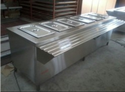 Stainless Steel Hot Bain Marie Six Container