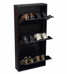 Metal Shoe Rack 3 Shelves