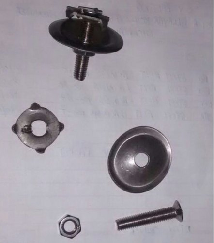 PU Stainless Steel Oval Belt Fastener