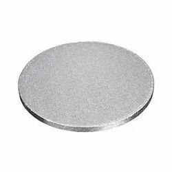 10 Inch Drum Board Silver Cake Base