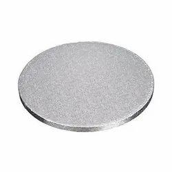 10 Inch Drum Board Silver Cake Base