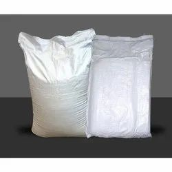 White Polypropylene Empty Cement Bag, For Packaging, Storage Capacity: 25 Kg