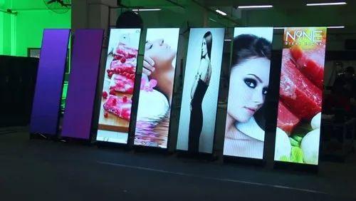 LED Video Standee Display Digital Standee