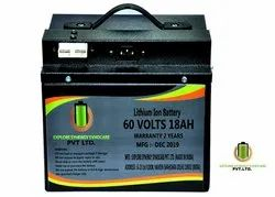60V 18Ah Lithium Ion Battery for Electric Vehicles