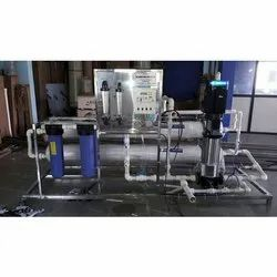 Cool Era SS   Powder coating 800 LPH Industrial RO Plant, for Water Purification, Automation Grade: Automatic