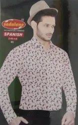 Sadalene Mens Printed Shirt