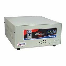 Single Phase Microtek Stabilizer MAINLINE EML5090, Current Capacity: 5kva, 220