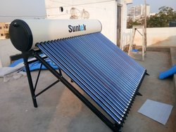 300LPD ETC Based Solar Water Heater