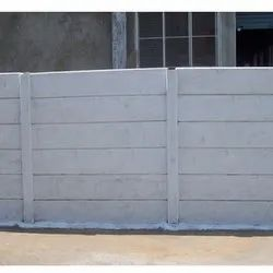Residential Concrete Compound Wall