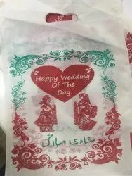 Happy Wedding  Non Woven D Cut Bag