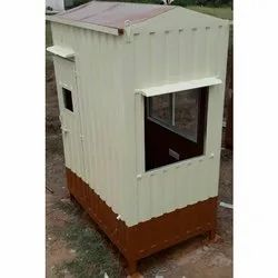 Steel Portable Security Guard Cabin