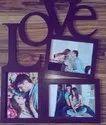 Acrylic Couple Photo Frame