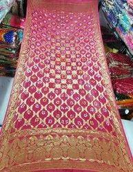 Banarasi Dupatta With Bandhej