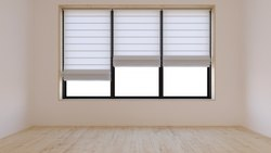 Plain Motorized Curtain