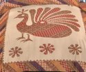 Rajasthani Bedsheets Double Bed Cotton Peacock Print