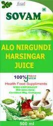 Aloe Nirgundi Harshingar Juice