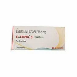 Evermil 5 mg Everolimus Tablet