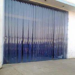 Yellow , green PVC Strip Door Curtain, Size (feet X feet): 10x10
