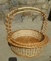 Round Basket 2 Piece Set