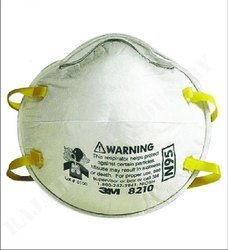 3m Respiratory N95 Nose Mask for Pharma Industry