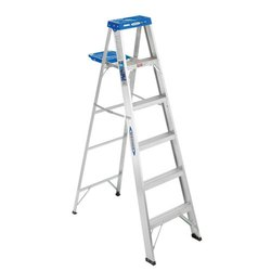 Aluminium Pipe Step Anodized Ladder