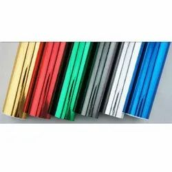 Blue Pvc Car Wraps Colored Vinyl Sheet, Packaging Type: Roll